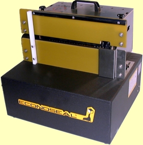 Portable & self contained, foot pedal operation (click for brochure)